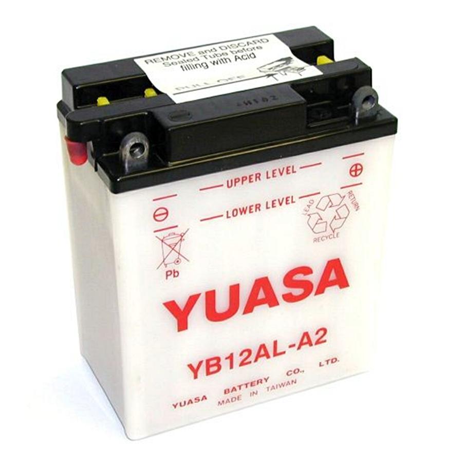 yuasa yb12al a2 battery 12v 12ah bmw f 650 gs dakar. Black Bedroom Furniture Sets. Home Design Ideas