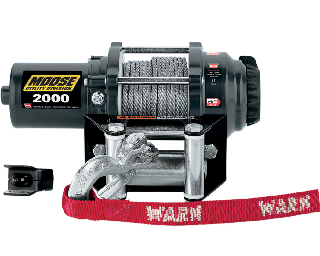 warn rope winch 2000 winch 12v 907kg suzuki vinson eiger. Black Bedroom Furniture Sets. Home Design Ideas